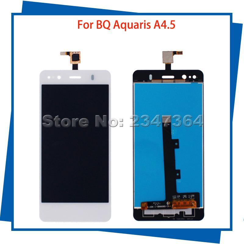 Para BQ Aquaris A4.5 4.5 ''Pantalla Táctil Digitalizador Asamblea LCD de Alta Ca