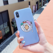 Egg Print Phone Case For iPhone 7 8 6 6S Plus Back Cover For iPhone X XR XS MAX IMD Cases Coque Soft TPU Silicone Cute Pattern цена и фото