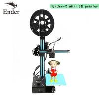 2017 HOT High Quality Ender 2 3D Printer Metal Frame DIY KIT 3d Printer Machine Reprap