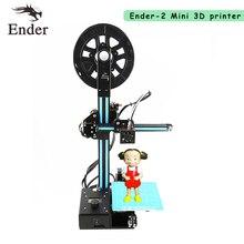2017 новые ender-2 3D-принтеры DIY Kit мини принтер 3D машины RepRap Prusa i3 шкив версия руководство принтер 3D N нити