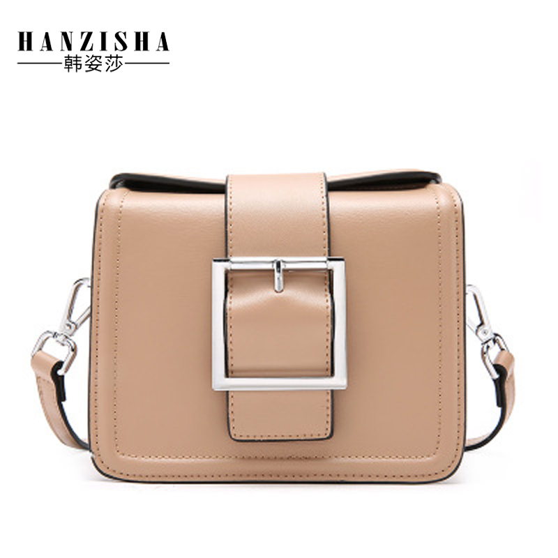 купить 2018 New Brand Small Flap Bag Cow Leather Women Messenger Bag Fashion Luxury Designer Women shoulder Bag Female Crossbody Bag по цене 2970.13 рублей