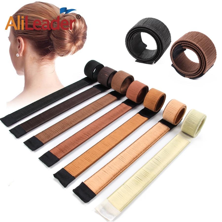 Pas cher 1 pièces porte-tresse magique français facile cheveux Chignon fabricant cheveux accessoires mode femmes coiffure/magique noeud outil