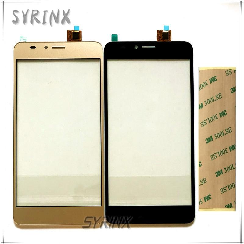 Syrinx Freies Klebeband Touchscreen Digitizer-Panel Glas Für BQ 5510 BQ-5510 BQS 5510 BQS-5510 Strike Power Max Touchscreen Sensor