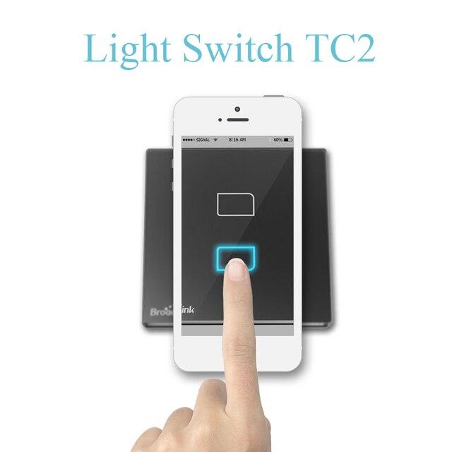 BroadLink RF Smart Home 110V TC2 Wall Light ON/OFF Switch WiFi ...