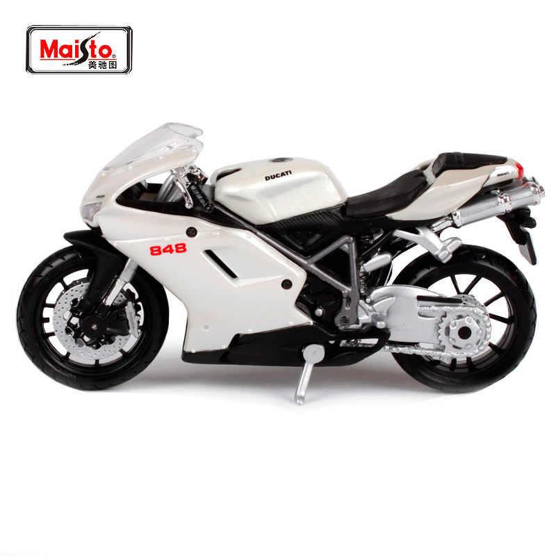 MAISTO 1:18 Ducati 848 MOTORCYCLE BIKE DIECAST MODEL TOY NEW IN BOX