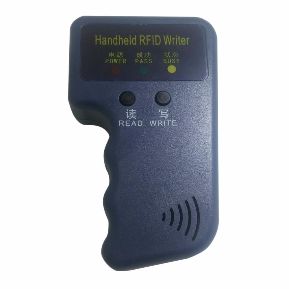 Handheld 125Khz EM4100 RFID Copier Writer Duplicator Programmer Reader Compatible With EM4305 T5577 CET5200 EN4305 Promotions|Control Card Readers| |  - title=