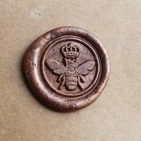 Queen Bee Wax Seal Stamp Bee Wax Seal Stamp Wedding Wax Seal Stamp Bee Stamp
