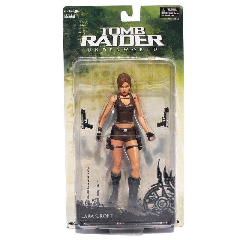 Neca Tomb Raider Underworld Lara Croft Statue Model Action Figure Collection Toy Anime Figure Collectible Model Toy