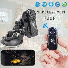 Mini Wireless Wifi de La Cámara 720 P HD IP CÁMARA de Visión Nocturna Oculta Espía Hoursing Seguridad DV Micro Red de Cámaras de Vídeo Digital videocámara