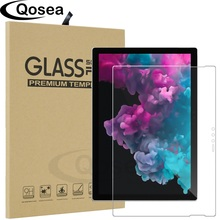 Qosea For Microsoft Surface Pro 6 Tempered Glass Film 9H Ultra thin Clear For