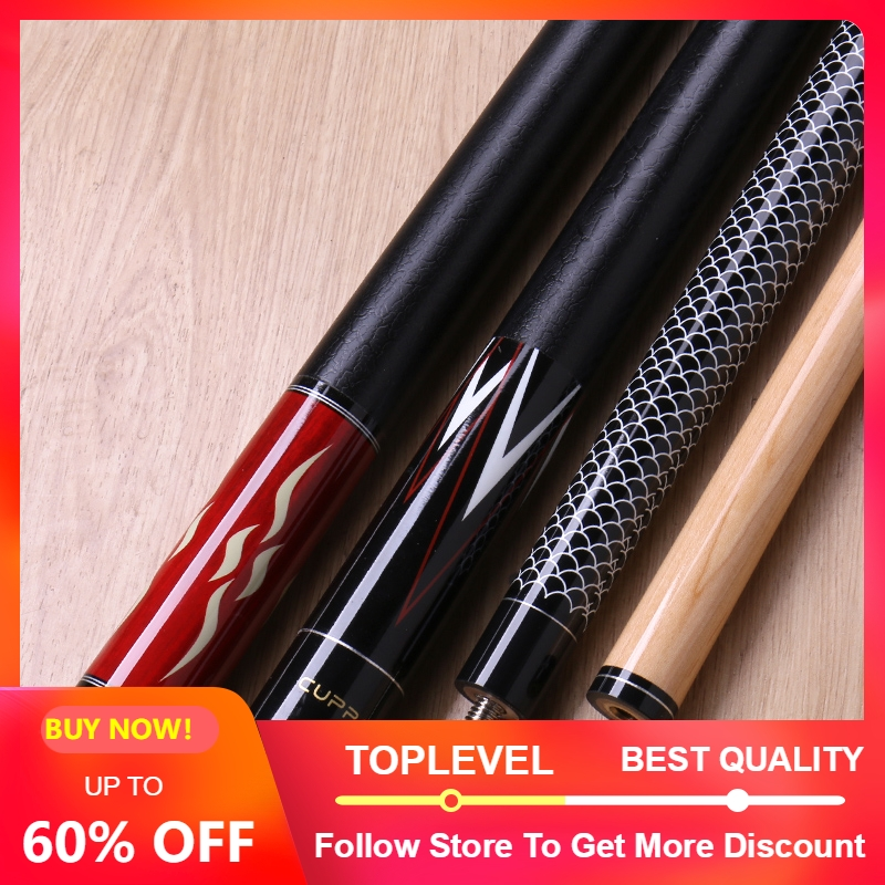 2019 Cuppa HS Billiard Pool Cue Stick with Case 12 75 mm 11 75 mm Pool