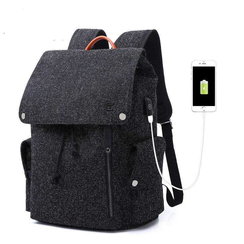 TC713 nouvelle tendance de la mode Oxford sac à dos lycée étudiant sac d'ordinateur loisirs sac de voyage sac à dos pour hommes