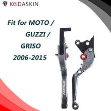 KODASKIN CNC Adjustable for MOTO GUZZI GRISO 2006-2015 Folding Extendable Brake Clutch Levers