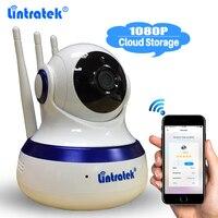 Lintratek Tri Antenna Cloud Storage IP Camera Home CCTV Security 2MP Wifi HD 1080P Camera P2P