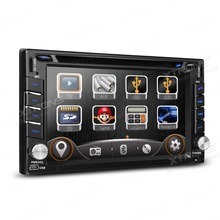 XTRONS 6 2 inch 2 din Car DVD Player Radio HD Touch Screen GPS Navigator with