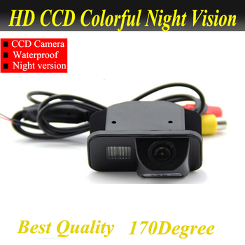 цена на For Toyota Avensis T25 T27 car reversing rear view camera backup auto reverse camera system with parking line water proof
