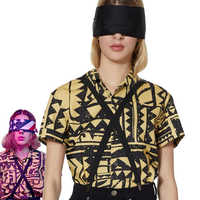 Filles femmes étranger choses 3 onze Cosplay Costume EL Cosplay chemise Halloween carnaval fête accessoires