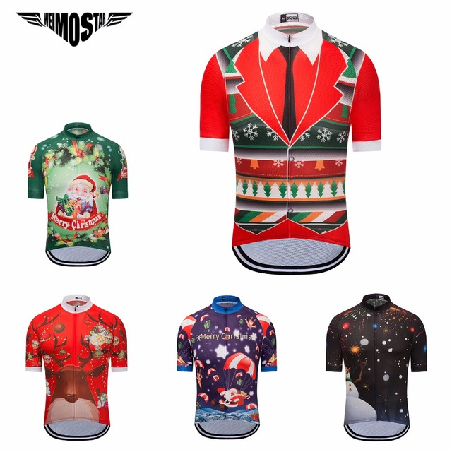 WEIMOSTAR 2018 Men s cycling jersey Merry Christmas mtb Pro Bicycle shirts  Snowmen Ropa Ciclismo Maillot outdoor Bike Jersey 6cda8c766