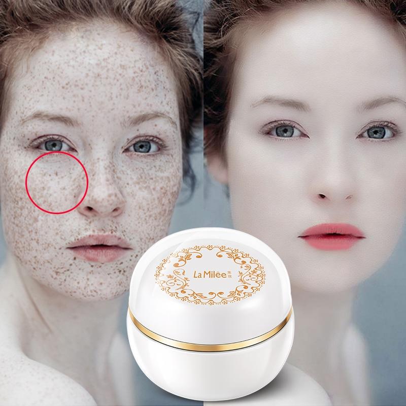 [Compre 1 Obtenga 1 gratis señora piel magia crema brillo pecas blanqueamiento crema pecas tan placas de la piel Facial importa Más brillante 38g