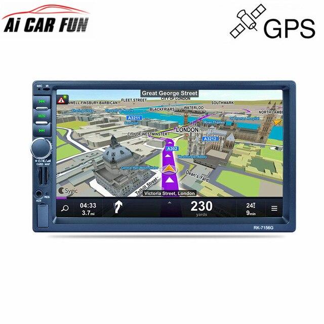 """rk 7156g 7\"""" touch screen bluetooth 2din car radio fm am rds radiork 7156g 7\"""" touch screen bluetooth 2din car radio fm am rds"""