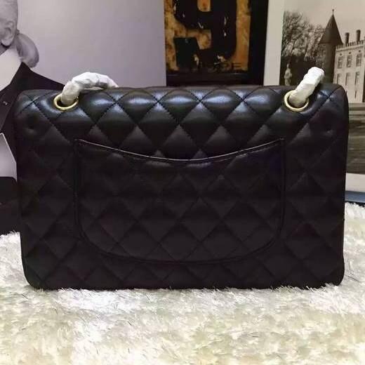Top Quality Lambskin Black Classic Chain Flap Bags Women Shoulder Bag Female Crossbody Bag Brand Luxury Purses Handbags Designer