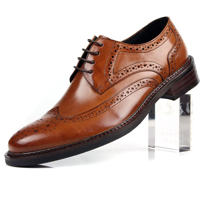Suede Genuine Leather Mens Shoes