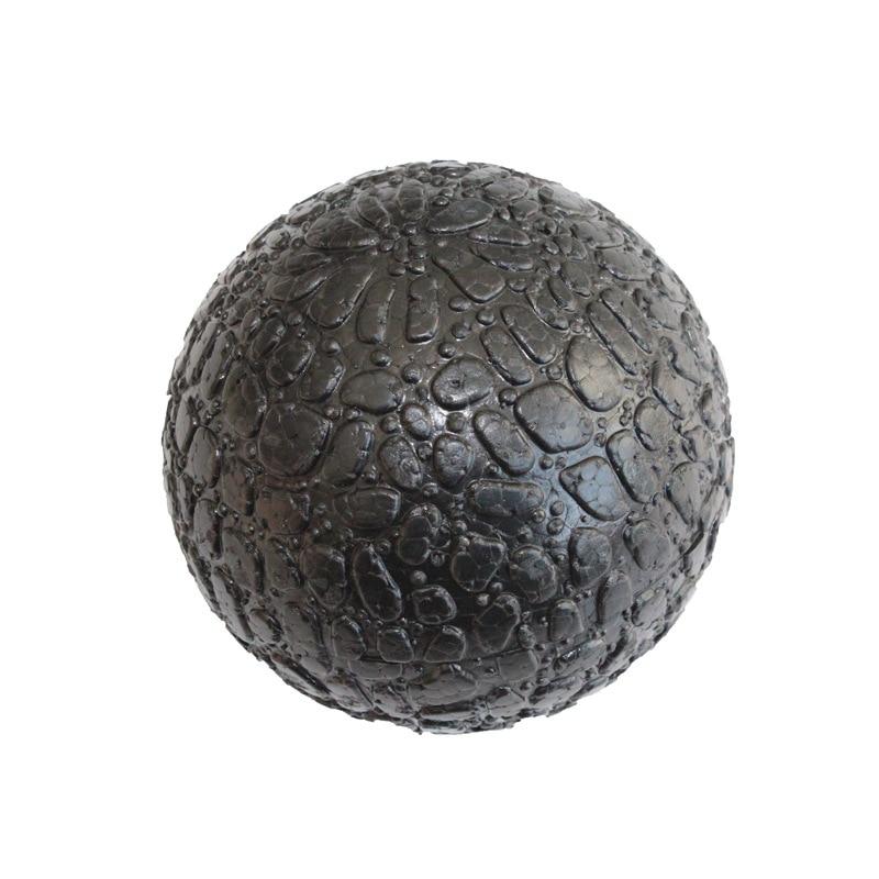 1pcs 10cm High Density EPP Massage Ball Lightweight Black Fitness Training Lacrosse Ball Body Yoga Sport Exercise Black Hard Big
