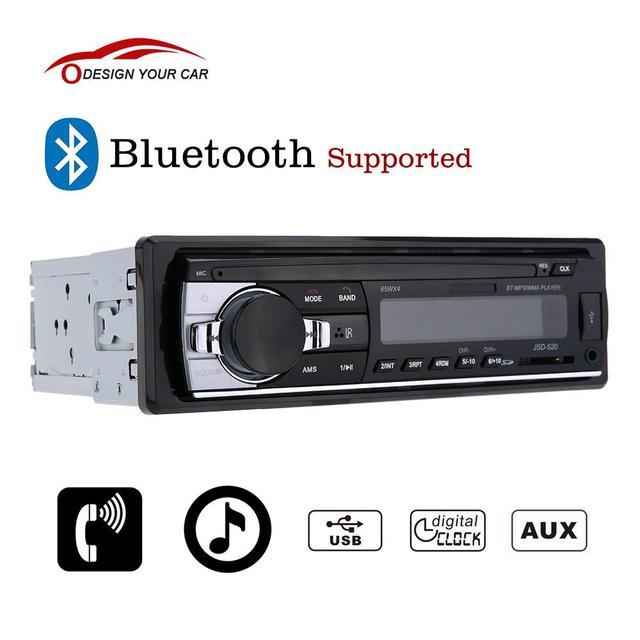 Bluetooth Auto Stereo Radio Audio Player Empfänger In Dash FM Aux ...