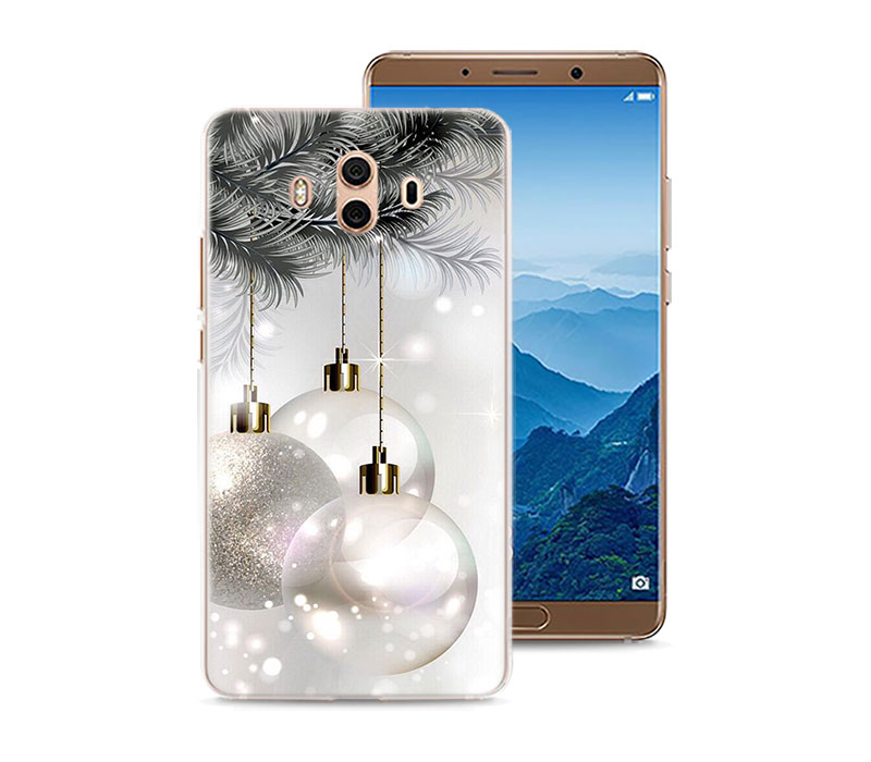 Merry Christmas Winter Wishes Phone Case For Huawei Mate 20 Pro 20 Lite 10 Lite Hard PC Case For Huawei Mate 10 Lite Case Cover