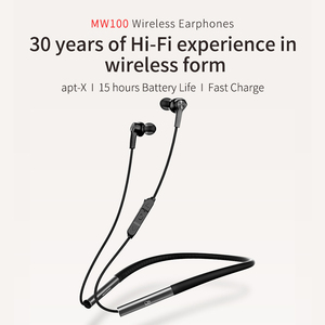 Image 2 - Беспроводные наушники SHANLING MW100, HIFI аудио Графический драйвер, жидкий кремний, поддержка Apt X, быстрая зарядка