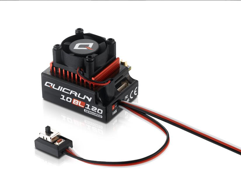 Hobbywing QUICRUN 10BL120 Sensored 120A 2-3S Lipo Speed Controller Brushless ESC for 1/10 1/12 RC Car schleich schleich липицианская кобыла серия домашние животные