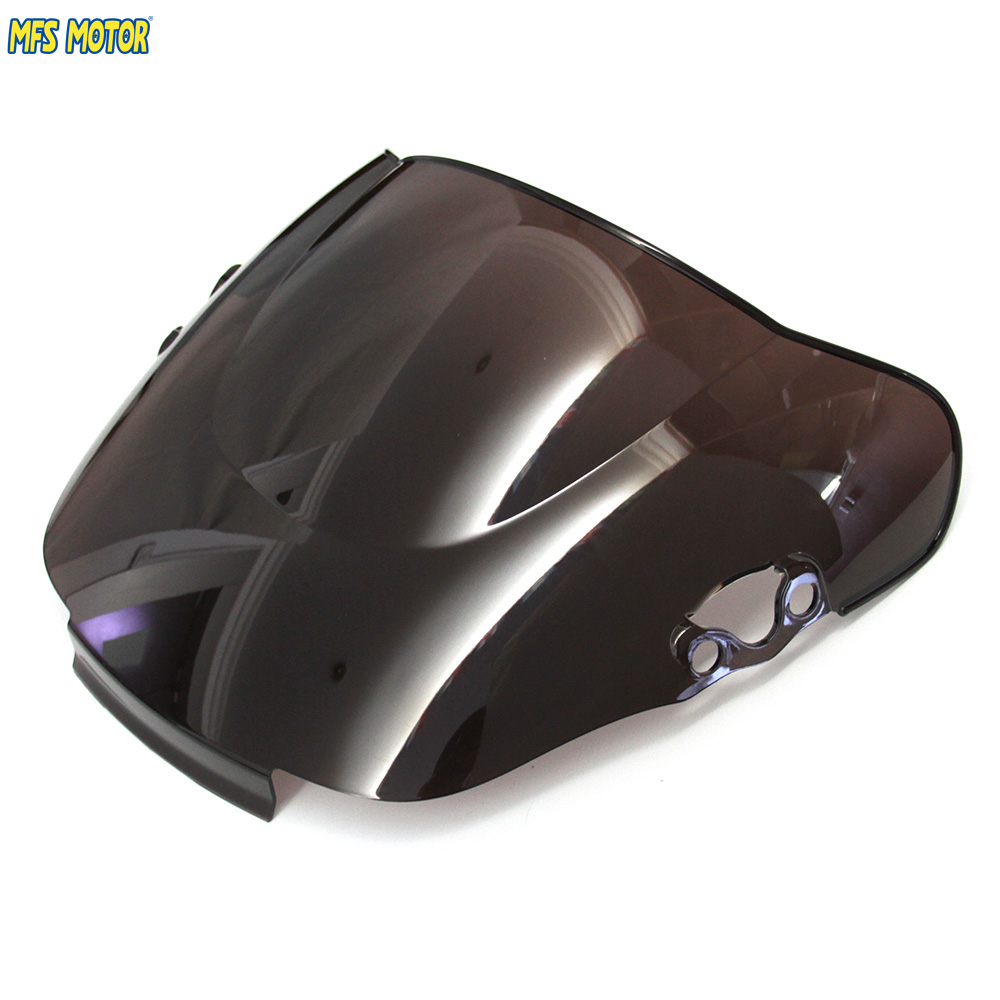 Motorcycle Part Black Windscreen Windshield For Honda CBR 600 F2 1991 1994 92 93 CBR600 91-94