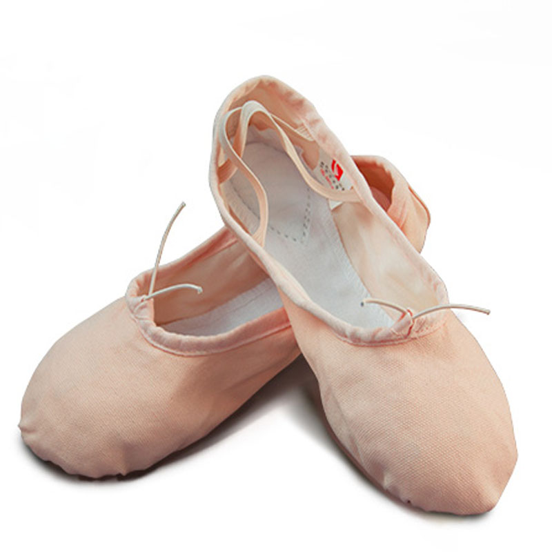 Picture of 2017 Brand New Dance Shoes Cat Claw Canvas Flat Ballet Shoes For Girls Children Woman Teacher Gym Yoga Teacher Slippers