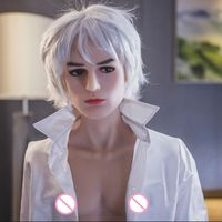 160 cm real TPE silicone sex doll for men lifelike penis can choose 14cm or 16 cm