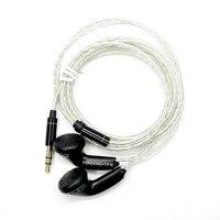 Newest TONEKING MusicMaker TP16 32ohms 3 5mm In Ear Earphong Flat Head Plug Earbud Earphone DYI