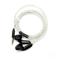 Newest TONEKING MusicMaker TP16 32ohms 3 5mm In Ear Earphong Flat Head Plug Earbud Earphone DYI