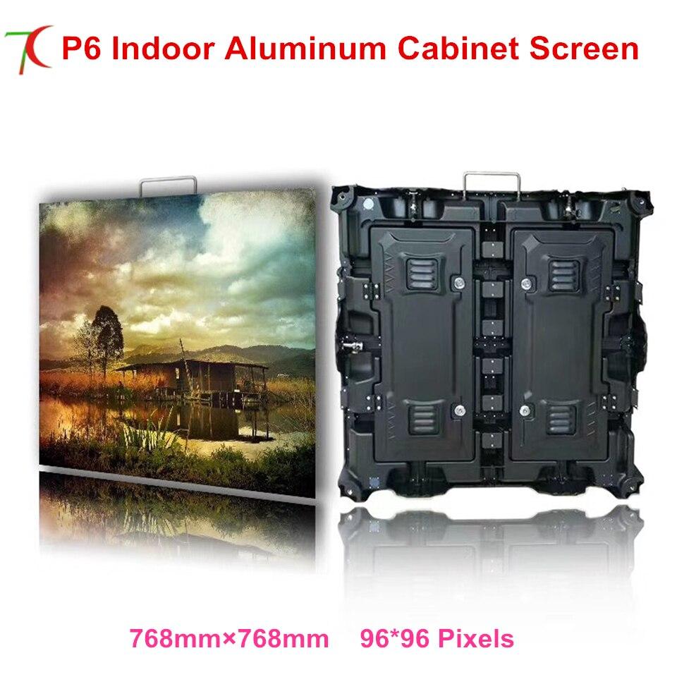 P6 indoor 768*768mm smd3528 16scan outdoor waterproof aluminum cabinet display,IP25,1800cd brightnessP6 indoor 768*768mm smd3528 16scan outdoor waterproof aluminum cabinet display,IP25,1800cd brightness