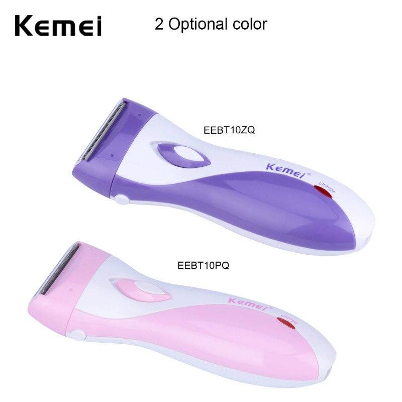 Recargable afeitar afeitadora de mujer inteligente Anti-clip de pelo eléctrica eliminación máquina de afeitar de pierna cuerpo de Bikini depilación Trimmer 42