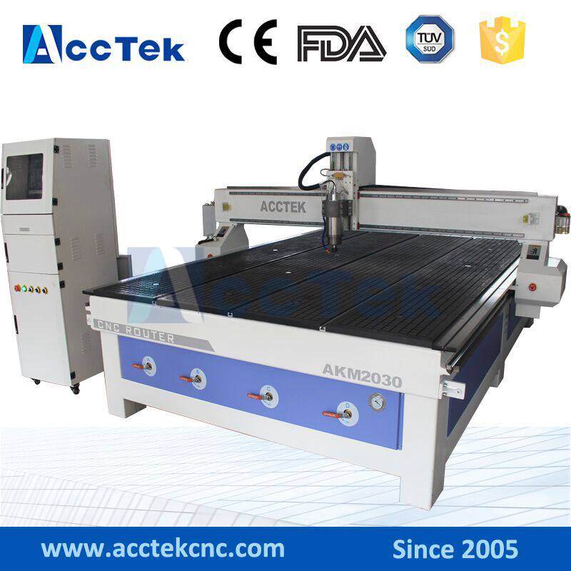 ACCTEK AKM2030 2000x3000mm shandong cnc router, sign making machine