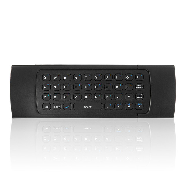 2 4g fly air mouse ir wireless keyboard remote controller with