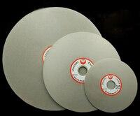 10 Inch 250mm 80 2000 Grit Diamond Coated Flat Lap Wheel Jewelry Grinding Polishing Disc Tool