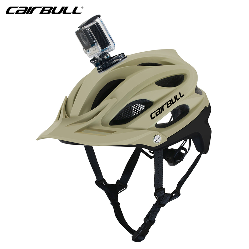 US $32 13 37% OFF|Cairbull 2019 Mountain Bicycle Helmet All terrai Casco  MTB Bike Helmets Riding Sports Safety Helmet OFF ROAD Cycling Helmet BMX-in