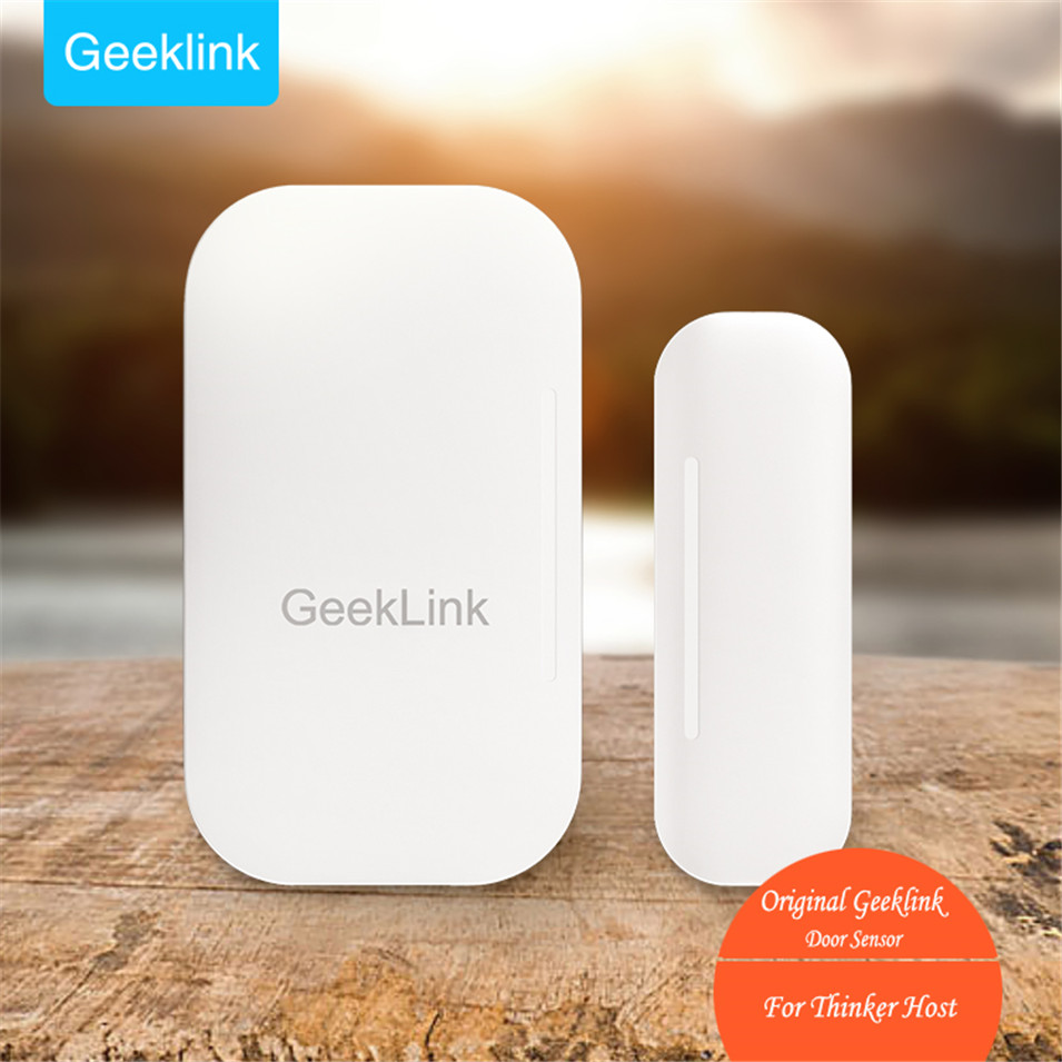 imágenes para Geeklink Sensor de la Puerta de Casa Inteligente, Detección de Ventanas Y Puertas de Apertura/Cierre, Información en tiempo Real a Pensador, Wifi Control Remoto por IOS Android