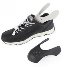 Buy 1 Pair Washable Toe Cap Support Shoe Shield Sneaker Anti-Crease Fold Shoes Bending Crack Shoe Head Shaper Expander Drop Ship directly from merchant!