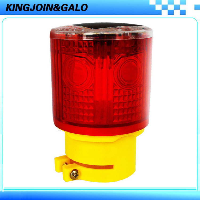 LED solar warning crane light for construction tower traffic safety critical road cones flashing signal construction site solar powered red amber blue safety warning flashing light