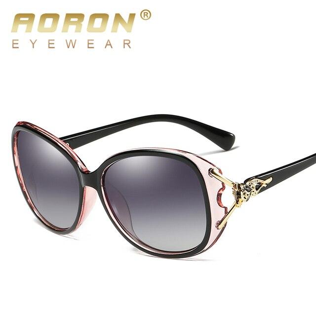 AORON Fashion Womens Polarized Sunglasses Women fox style Sung Lasses  Accessories UV400 Eyeglasses