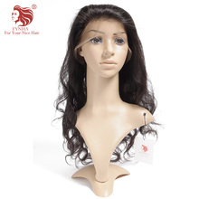 [FYNHA] 360 Lace Frontal Body Wave 100% Human Hair Virgin Hair Natural Hairline With Baby Hair Free Shipping