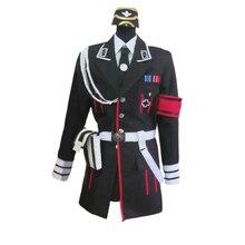 Униформа для девочек на Хэллоуин, рождественскую вечеринку, карнавальный костюм с шапкой и перчатками, MP40
