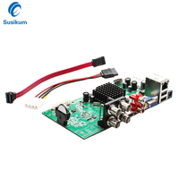 4Channel 4 IN 1 AHD DVR Surveillance Security CCTV Video Recorder DVR 4CH 1080N Hybrid NVR Board For Analog Cameras