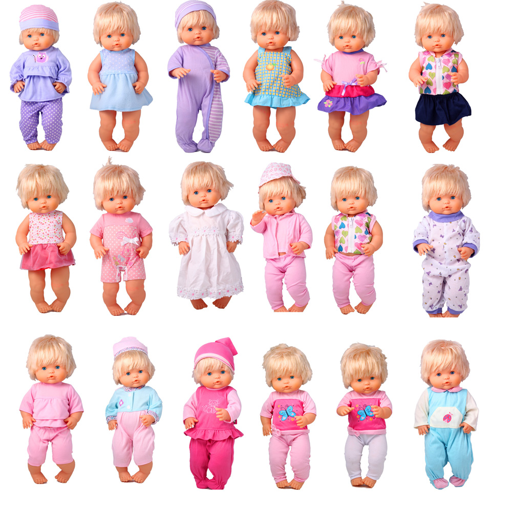 41cm Nenuco Doll Clothes Nenuco Ropa Y Su Hermanita Various Of Doll Outfits For 16 Inch My Little Nenuco Doll